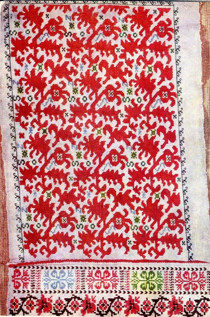 shopska embroidery, Sofia, Bulgaria