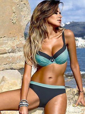 2018 new Swimwear Bikini Neoprene Swimsuits Bathing Suit Push Up Bikini Brazilian Vintage Maillot De Bain Red Leopard