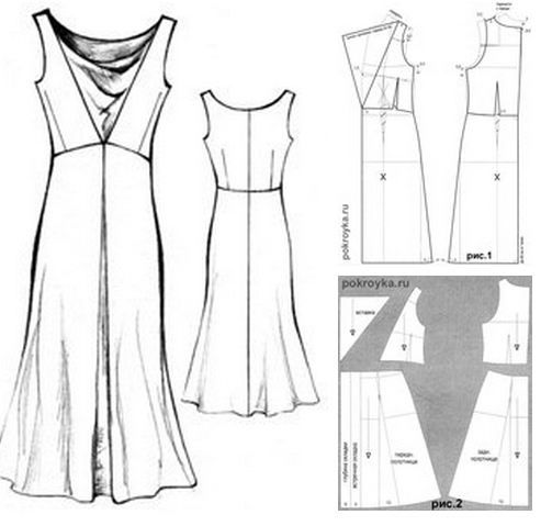 Love it. So easy to work out from the pattern diagram. .Hermosos Trabajos de Costura y Confección