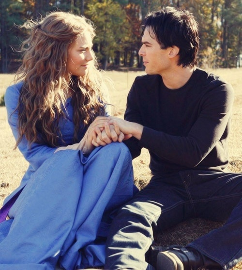 Damon and Rose..love this episode..she's on The Walking Dead now and I love her character on that show too!