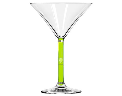 Бокал для коктейля— ватерпас