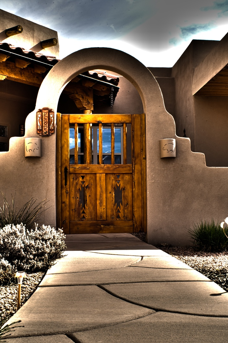Best 25 Southwestern Fencing And Gates Ideas On Pinterest