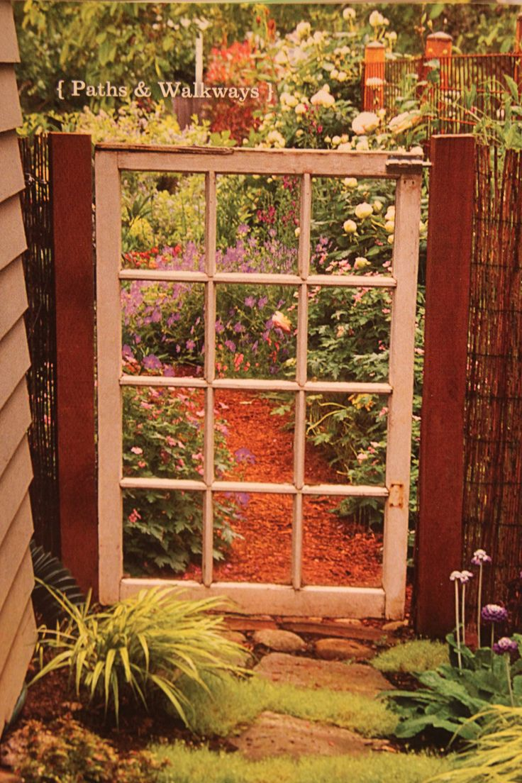 283 best Fences and gates images on Pinterest | Garden gates ...