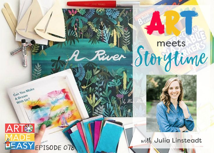Art Meets Storytime My favorite way to transition a classroom full of kids to an art class is to read a picture book. I've been a longtime fan of children's literature and art so when you put the two together, you have a enraptured audience. Today's guest is Julia Linsteadt, the co-founder of KidArtLit, a... View Article
