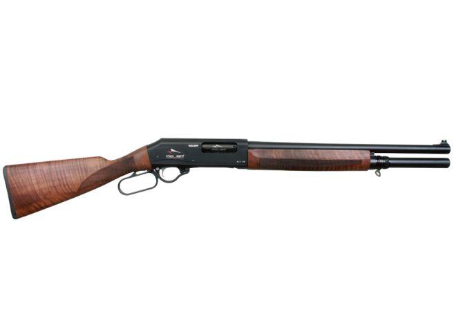 Escopeta de palanca - Adler, a Turkish Firearms Manufacturer, makes an 7+1 round lever action shotgun. They also make a SBS/AOW variant.