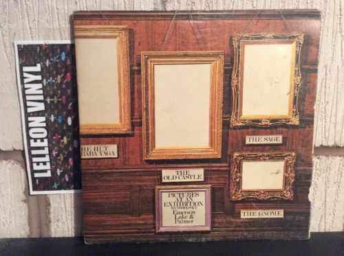 Emerson, Lake & Palmer Pictures At An Exhibition LP HELP1 A1/B1 Rock 1971 70's Music:Records:Albums/ LPs:Rock:Progressive