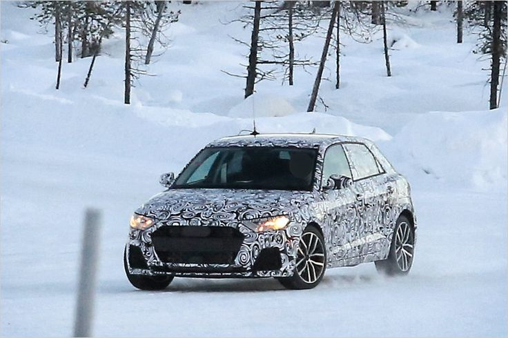 Caught: Audi is working on the new A1 - All About Automotive