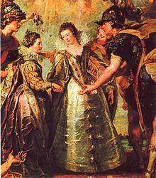 Anne d'Autriche (1601-1666) — Rubens 1622 Louvre
