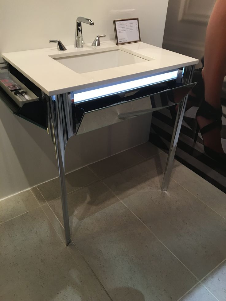 Best in KBIS 2016 - #BOK2016 - Best in Bath - Silver Winner and People's Choice Winner for Bath - Robern's Balletto Vanity