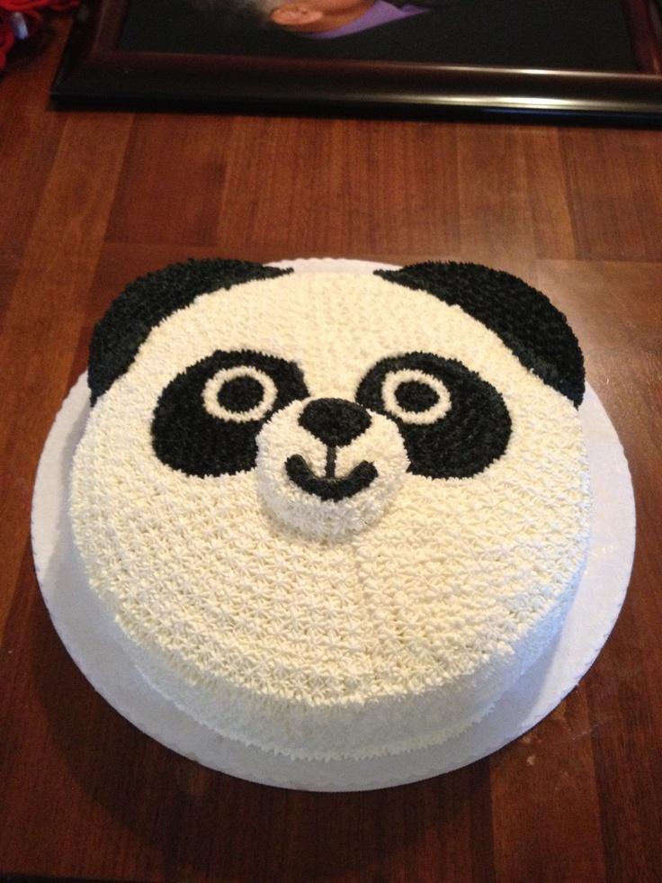 Best 25 panda bear cake ideas on pinterest panda cakes for Panda bear cake template