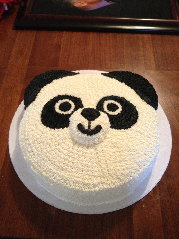 Panda Bear Cake Birthday Cakes Pinterest Panda Bears