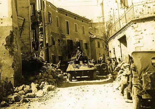 Brazilian Army in Montese, Italy 1944