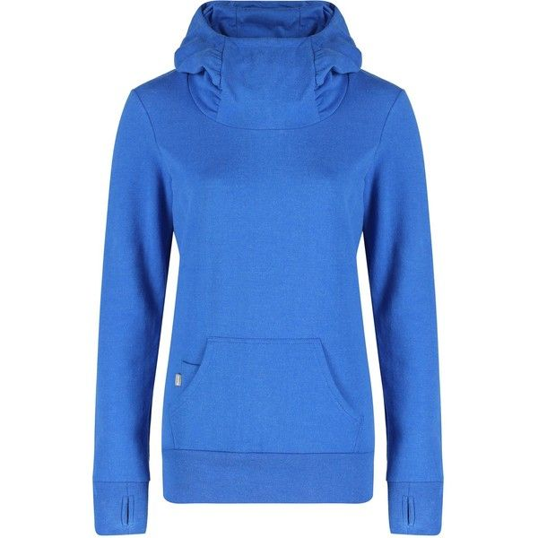 Bench Manifest overhead hoody ($84) ❤ liked on Polyvore featuring tops, hoodies, blue, women, hooded pullover, blue hoodie, blue hooded sweatshirt, lined hooded sweatshirt and bench hoodies