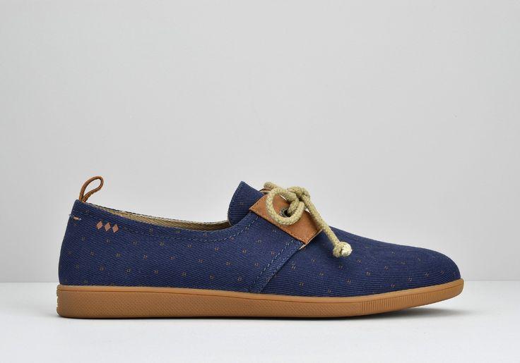 Découvrez le modèle Stone One HOMME Break Navy et les chaussures basses de la collection Armistice Homme - Livraison gratuite en France !