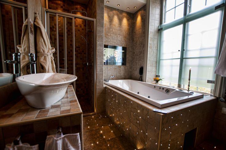 Bathroom at Gimo Herrgård in Uppland, Sweden