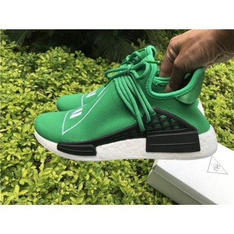 Adidas NMD Human Race Green from sneakeronfire.