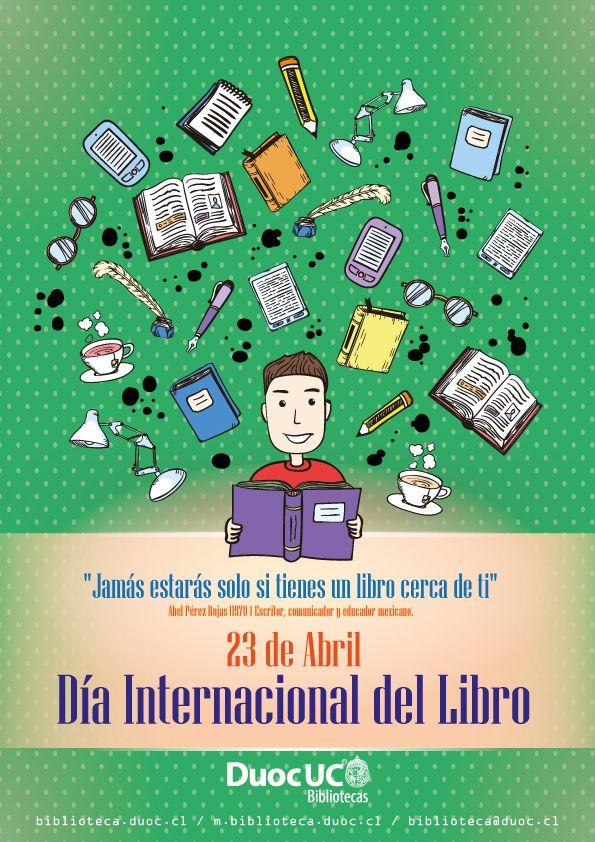 Las Bibliotecas Duoc UC invitan a celebrar el día del libro: Actividades por Sedes: http://www.duoc.cl/biblioteca/noticia/las-bibliotecas-duoc-uc-invitan-celebrar-la-semana-del-libro