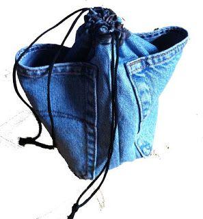 Sewing for Utange: Drawstring bags