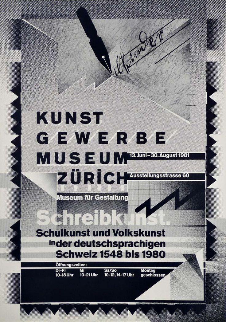 Wolfgang Weingart, poster