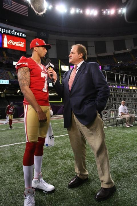 Colin Kaepernick and Chris Berman (January 29, 2013)