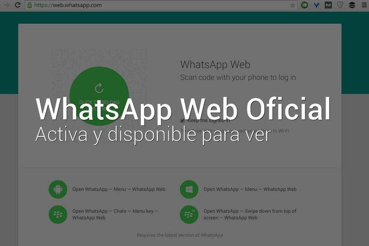Indice1 Cómo usar WhatsApp Web2 Descargar el APK de WhatsApp compatible con WhatsApp Web Las medidas de bloqueo por parte..
