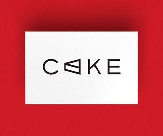 かっこいいロゴマーク作成デザイン, CAKE, アルファベット, A, サンセリフ(ゴシック体), 飲食店・食品業, 食べ物-飲み物, 洋菓子, スイーツ, スウィーツ, デザート, ケーキ
