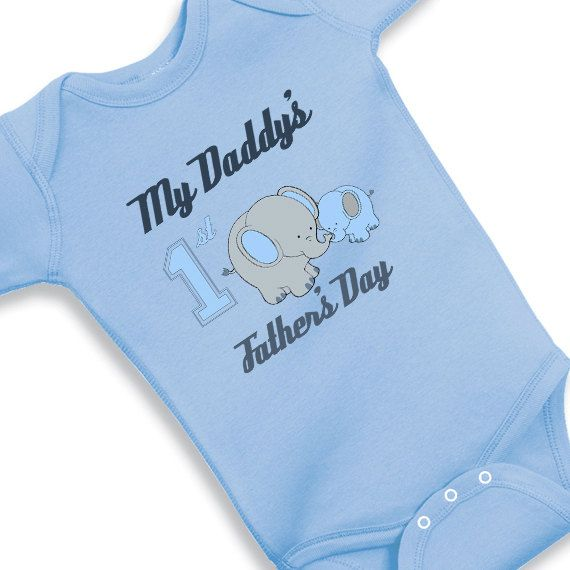 Daddys First Fathers Day Part - 36: My Daddys First Fathers Day With Elephants By Babyonesiesbynany, $13.75