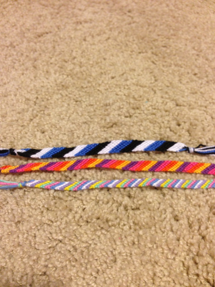 Candy Stripes! Top 2 are $3.50 and bottom one is $2.50