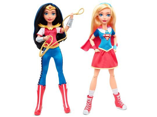 """DC Super Hero Girls"""" will follow female superheroes and supervillains of the DC Comics, """"prior to discovering their full super power potential."""" Description from forums.superherohype.com. I searched for this on bing.com/images"""