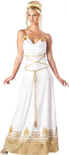 Grecian Goddess Greek Queen Adult Womens Costume Halloween S | eBay