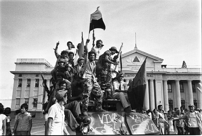 19 de julio de 1979 triunfo de la revolución sandinista en Managua, Nicaragua.