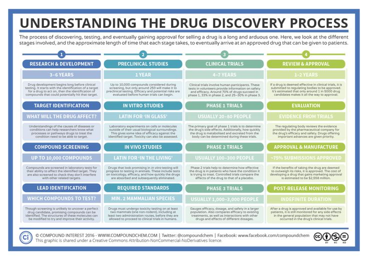 After the news of an accident in a French drug trial on Friday, you might be wondering what drug trials entail. Here's a summary sheet on the drug discovery process to clear things up!...