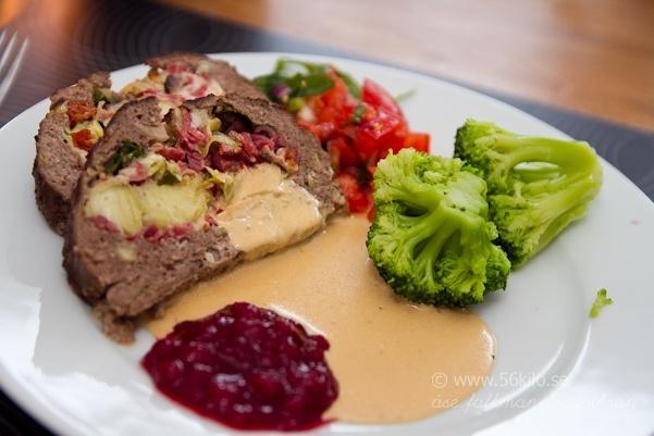 Italiensk fylld köttfärslimpa @ 56kilo – LCHF Recept, inspiration, mode och matglädje!