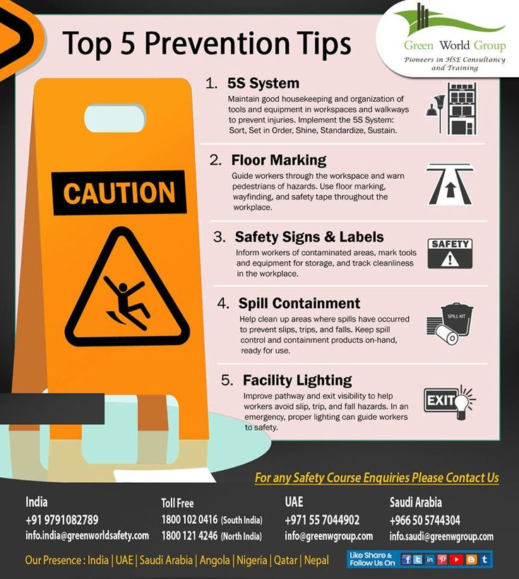 Top 5 Prevention Tips in 2020 Occupational health and