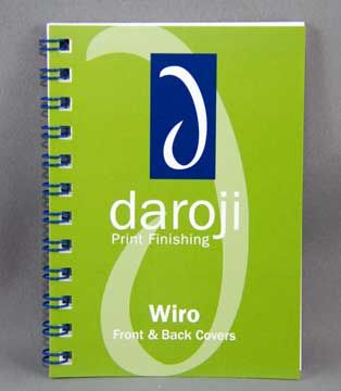 Double wire binding in Dark Blue. Visit www.daroji.com.au for more information and options.