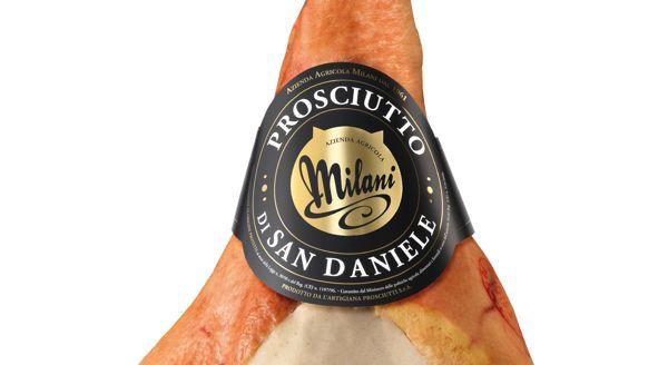 Milani's Packaging designed by Francesco Sposato (Manifactory)