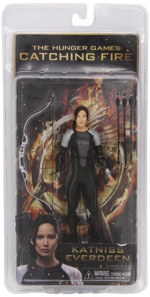 Catching Fire Movie Katniss Everdeen 7 Inch Action Figure A highly collectible figure.