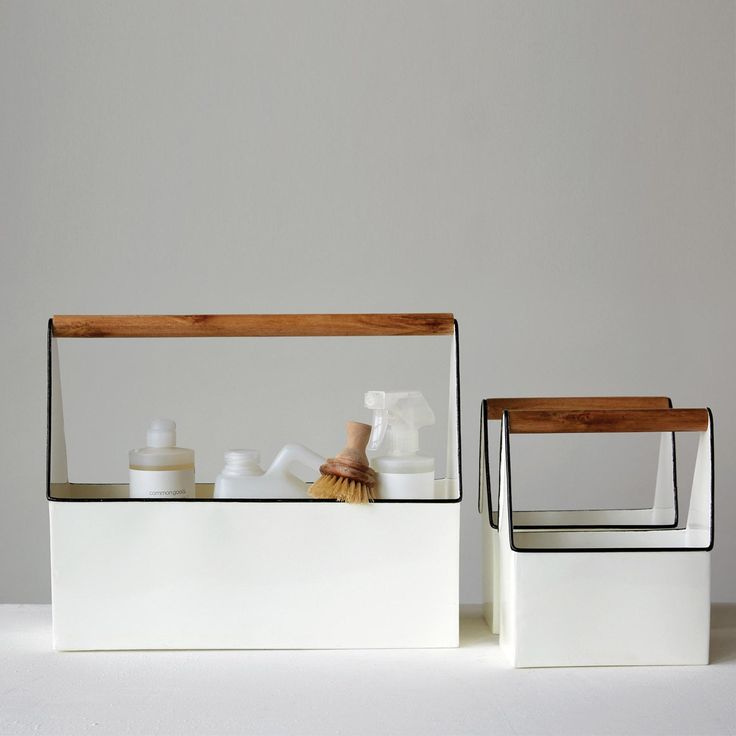 Creative Co-Op modern cleaning buckets