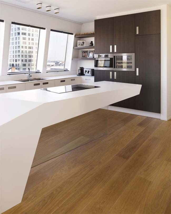 HI MACS Futuristic Kitchen Designs Part 34