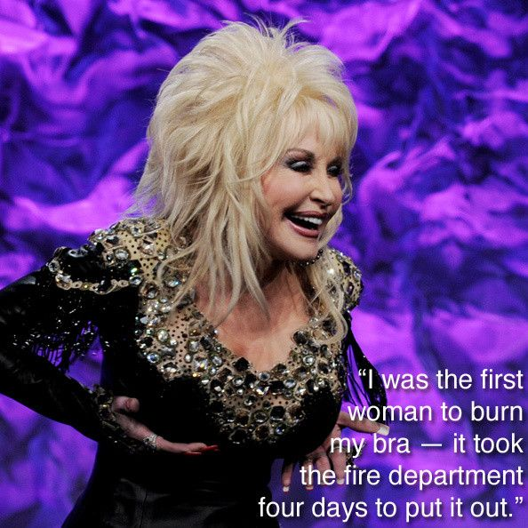 Dolly Parton on feminism.