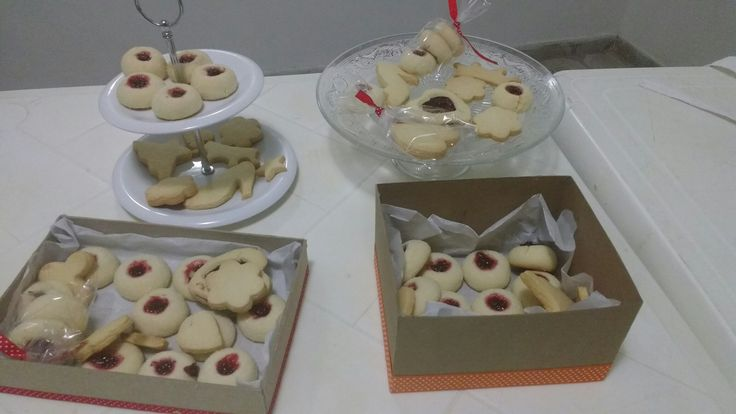 Galletas de mantequilla y galletas Polvorosas