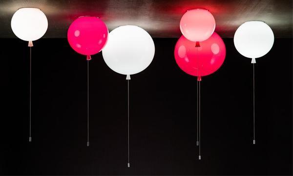 lampy baloniki do pokoju dziecka