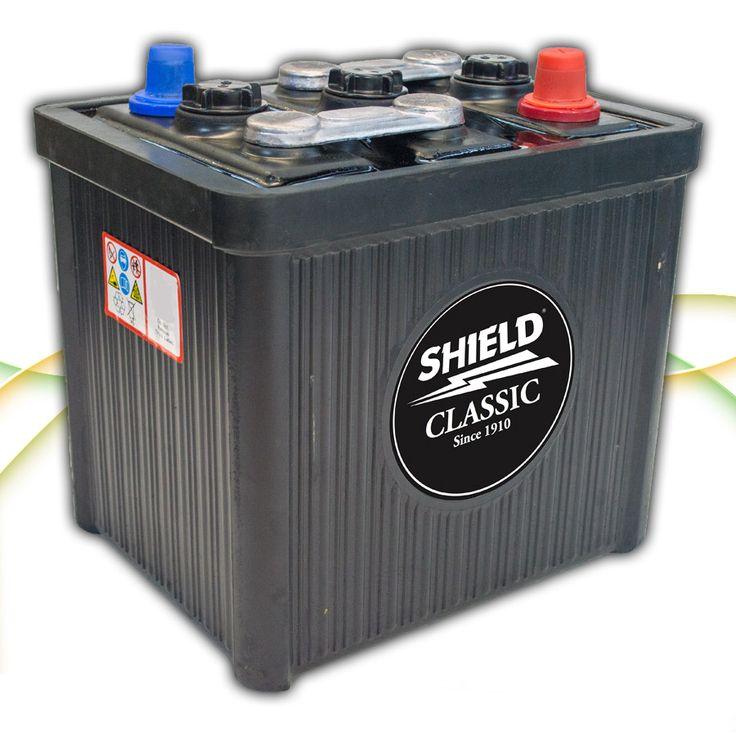 Type 501 6v Classic Car & Vintage Battery www.batterycharged.co.uk/shop/brands/shield-batteries/6v-classic-car-batteries/sheild-501-6v-classic-car-ba-1130696.html