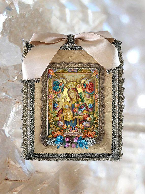 UNIQUE SHRINE Perpetual Help Shrine Our Lady Handmade Altar