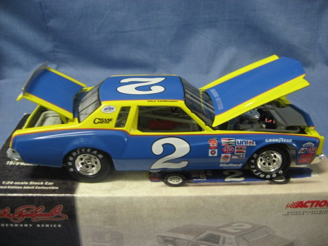 Action Collectibles 1:24 Scale Die-Cast Dale Earnhardt #2 Rookie Of The Year '79 Monte Carlo
