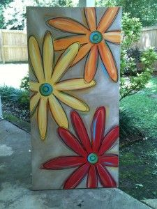 Big Spring Daisies... Laundry Room!!!