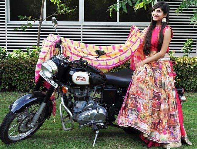 Block Printed Pink Chaniya Choli for Navratri  #Pink  #Printed  #Navratri  #Flared