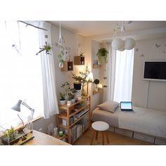 6畳程度の1K・ワンルームは狭いことが難点。でもお部屋の形に合わせれば、快適に暮らすことができるんです。それにはインテリアレイアウトが重要です。狭いお部屋を快適にする1K・ワンルームのインテリアレイアウト実例をご紹介しています。