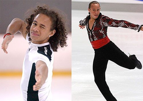 Elladj Balde (Russian/Guinean) [Canadian (Born in Russia)] Known as: Figure Skater (Won the Junior Title at the 2008 Canadian Championships)