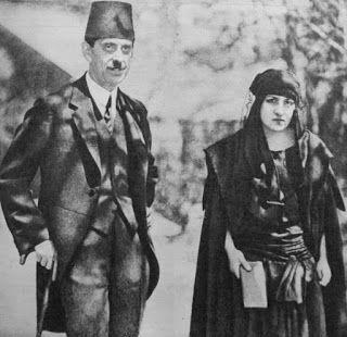 Halide Edib Adıvar ve Adnan Adıvar.